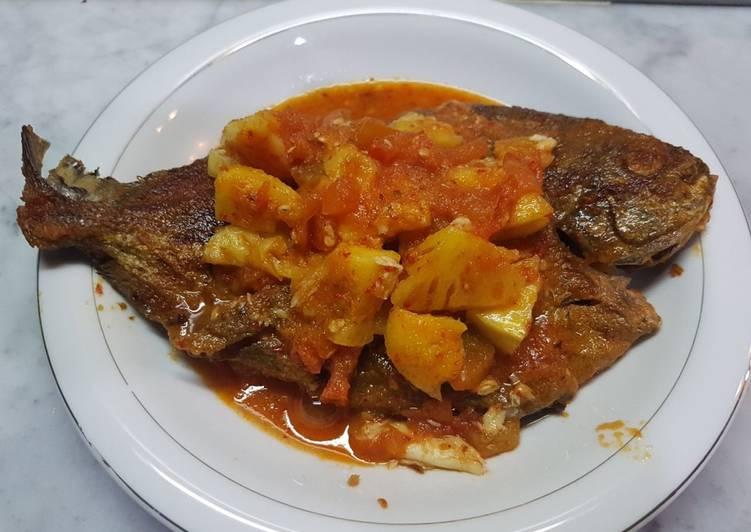 Resep Ikan asam pedas