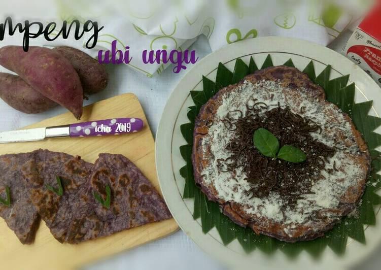 Resep Lempeng ubi ungu