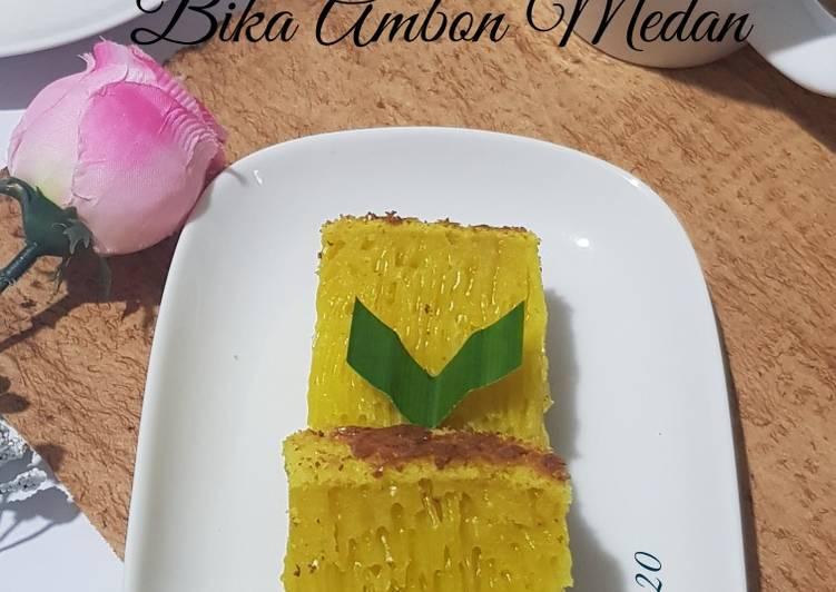 Resep Bika Ambon Medan