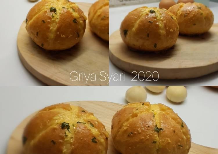 Resep Korean Garlic Bun