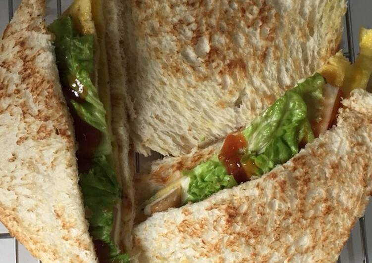 Resep Sandwich Praktis