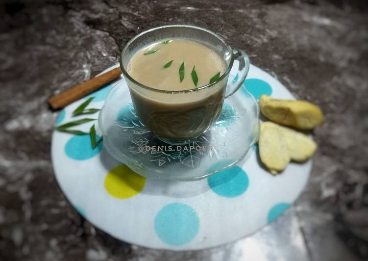 Resep Bajigur kopi