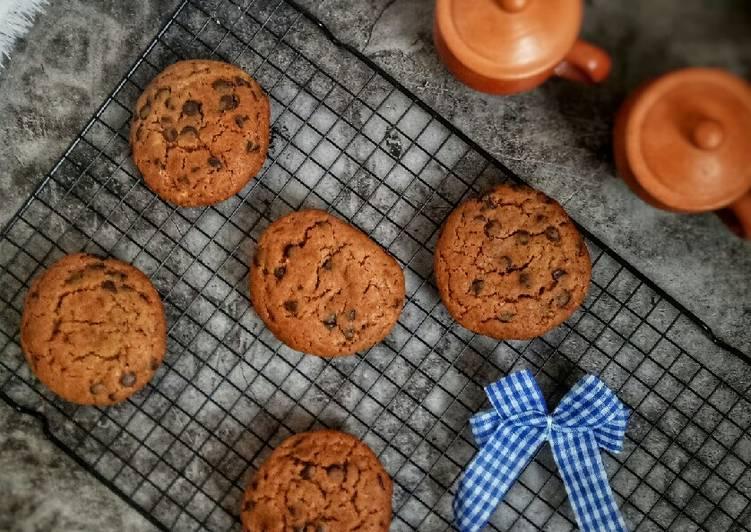 Resep Chewy Chocolate Cookies ala New York