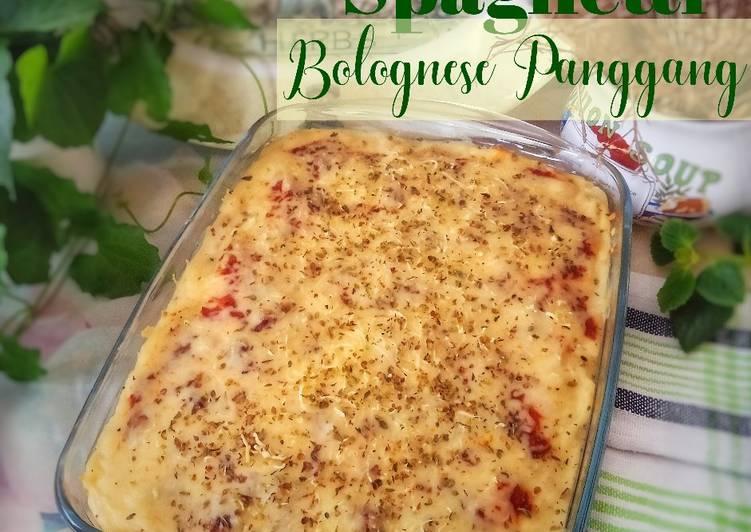 Resep Spaghetti Bolognese Panggang