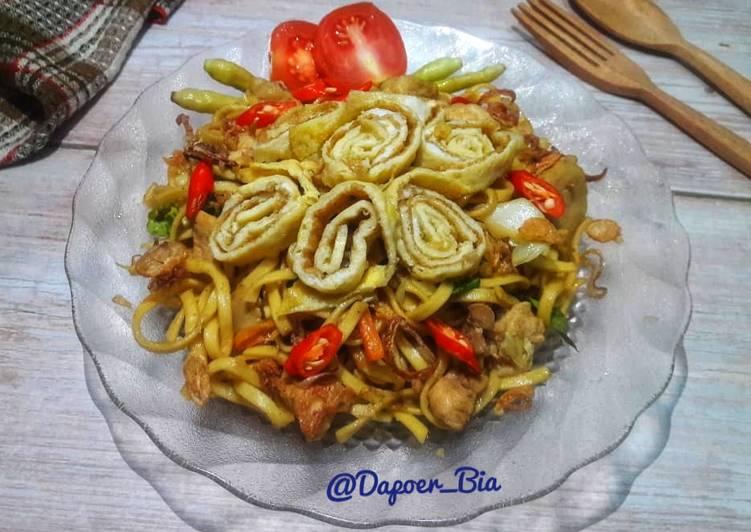 Resep Mie Goreng Ayam Bakso