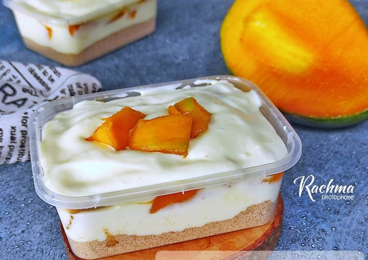 Resep sert Box ~ Mango Float #2