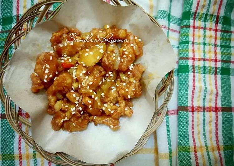 Resep Ayam Saos Madu