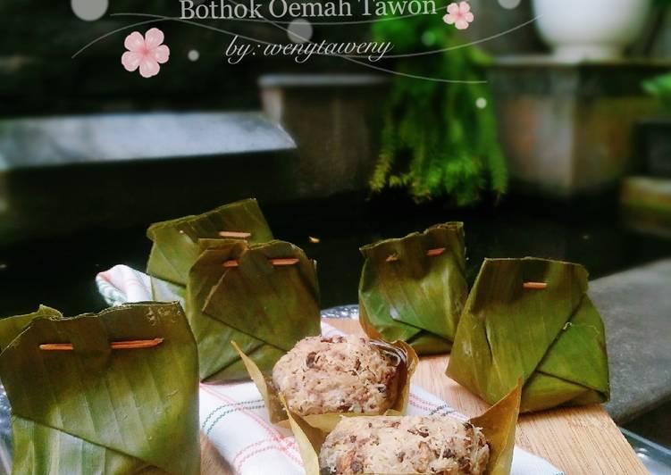 Resep Bothok Oemah Tawon (Bothok Sarang Lebah)