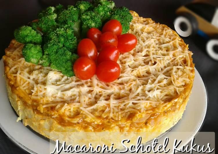 Resep Macaroni Schotel Kukus (Saus Bolognaise)