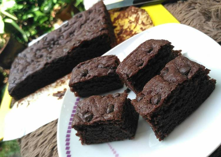 Resep Brownies Panggang 1 Telur Ajah #pr_browniesdcc