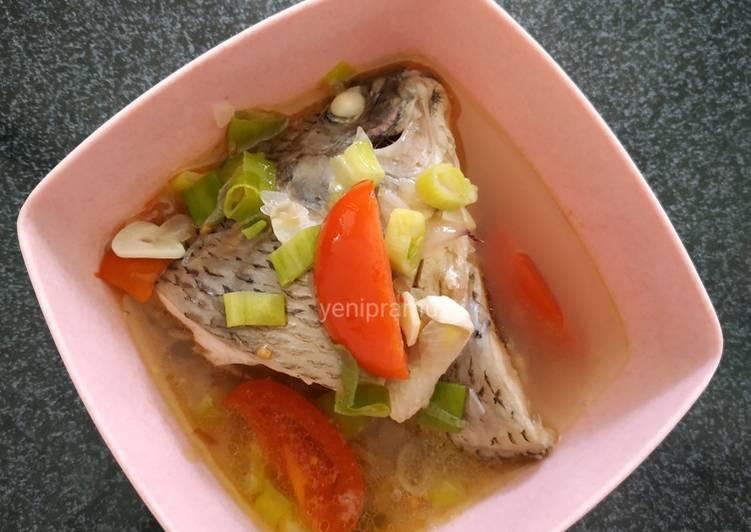 Resep Sup Ikan Nila