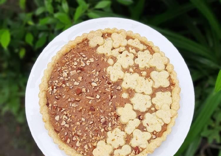 Resep Sweet Potato Pie / Pie Ubi