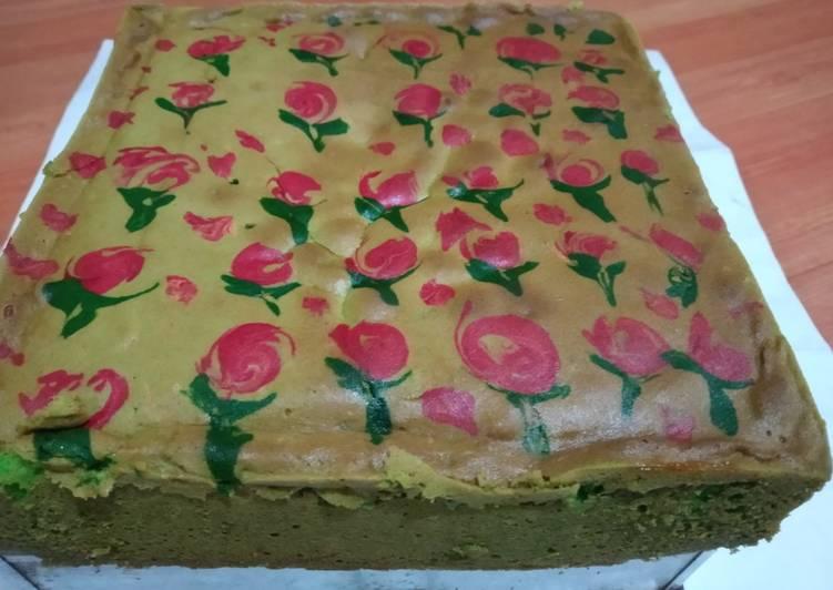 Resep Jelita cake(Bolu Lukis)