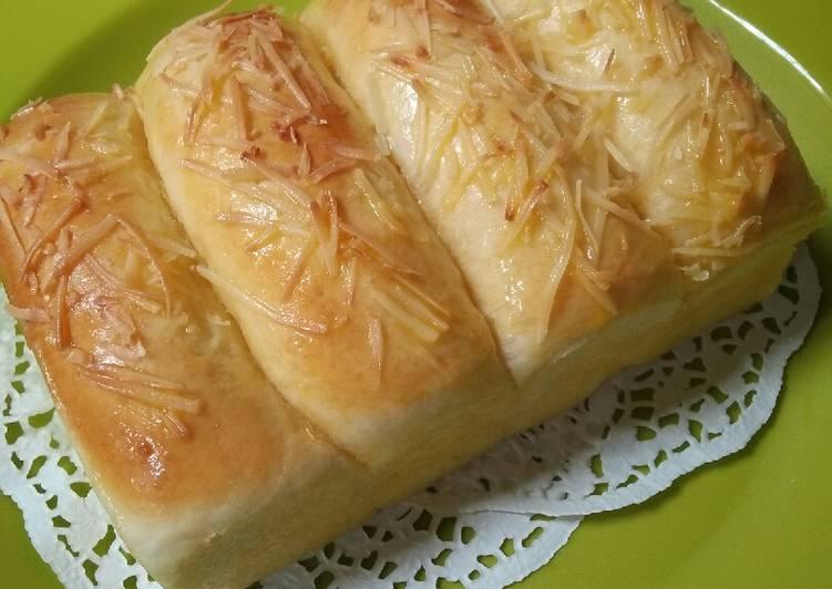 Resep Roti Keju Lembut (Killer Soft Bread)
