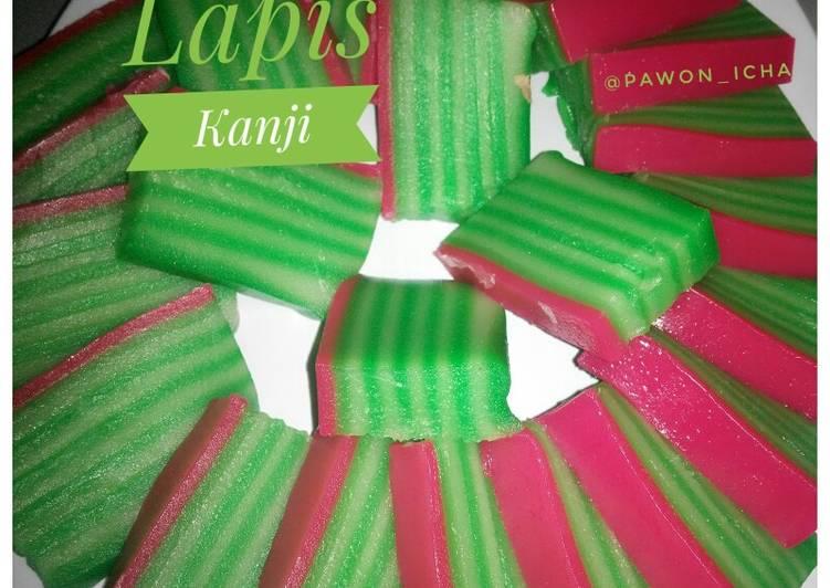 Resep Lapis Kanji