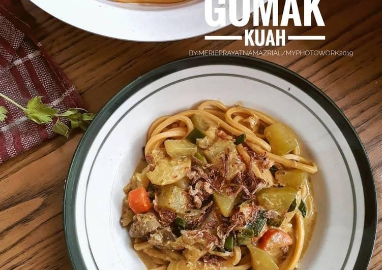 Resep Mie Gomak Kuah