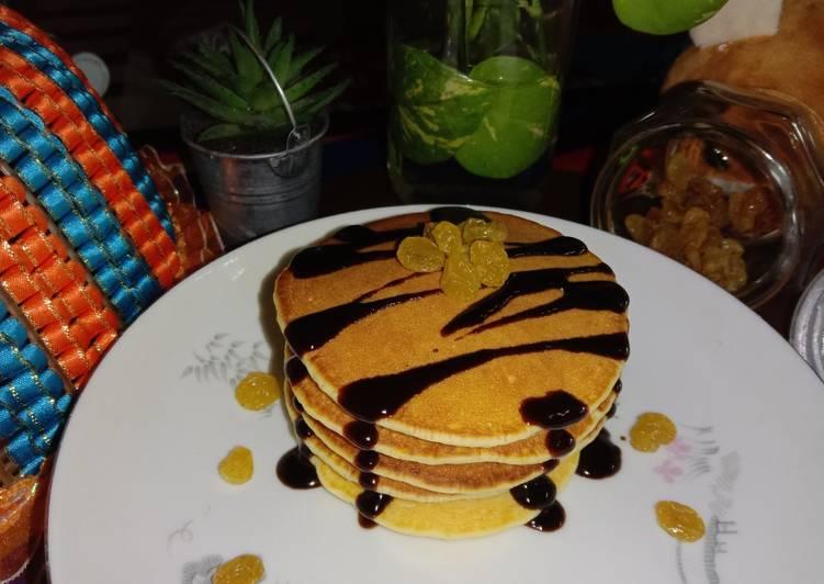 Resep Fluffy lychee pancake