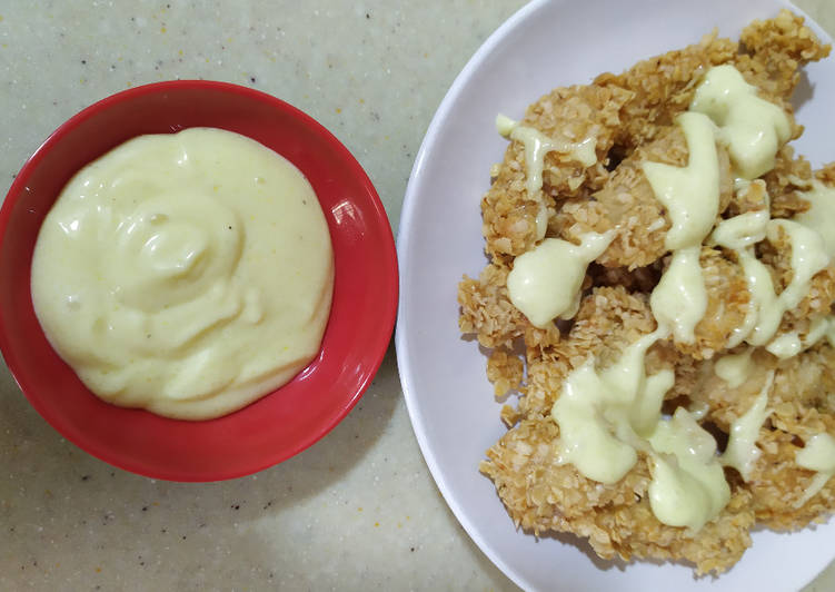 Resep Chicken saus mayonise