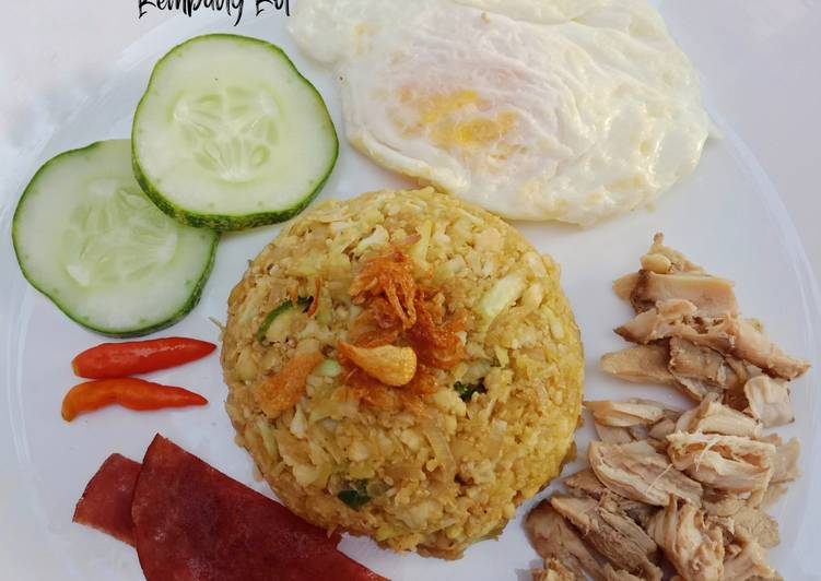 Resep Nasi Goreng Imitasi/Nasi Goreng Kembang Kol