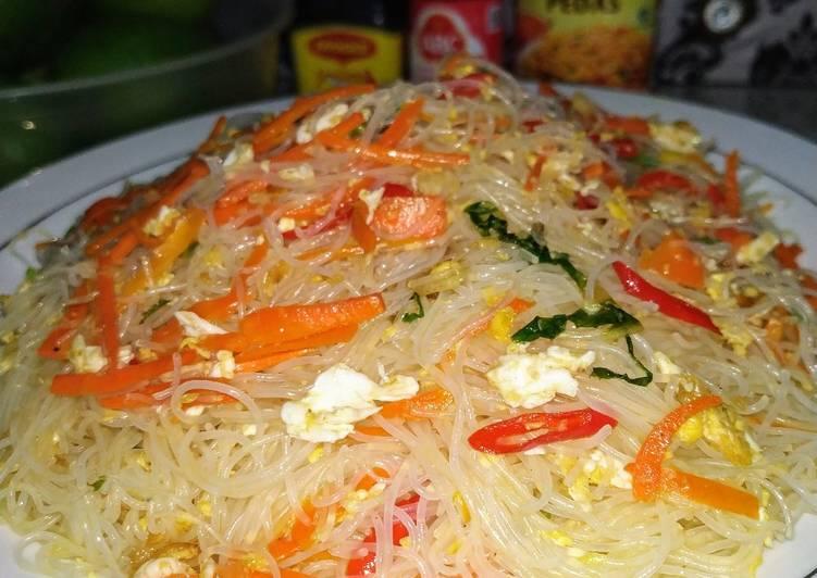 Resep Bihun Goreng wortel