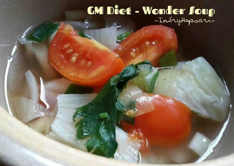Resep Wonder Soup #MenuDietGM