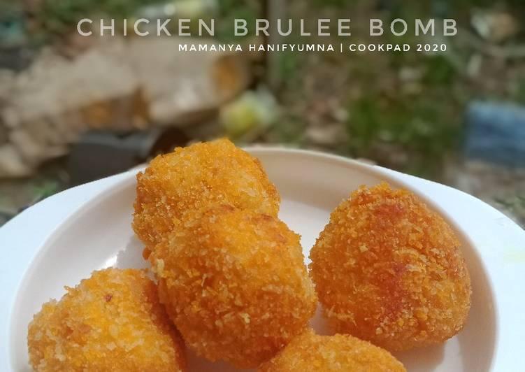 Resep Chicken Brulee Bomb