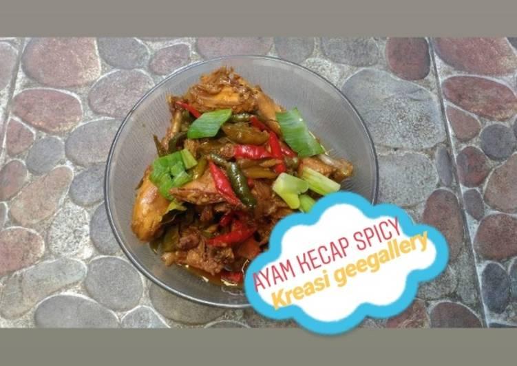 Resep Ayam kecap spicy