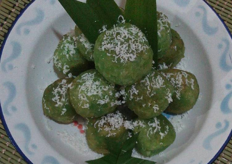 Resep Tape pandan goreng tabur keju