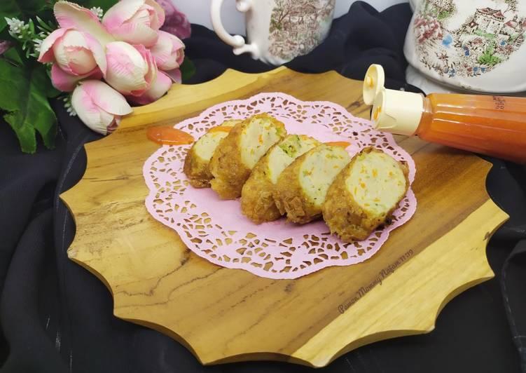Resep Kani Roll Ikan Nila dan Ayam