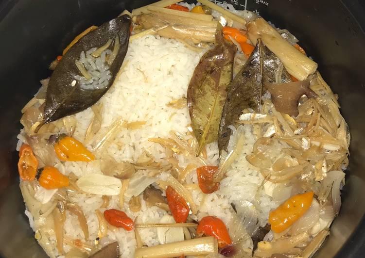 Resep Nasi Liwet Ikan Teri