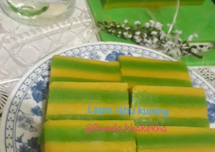 Resep Lapis Labu kuning (waluh)