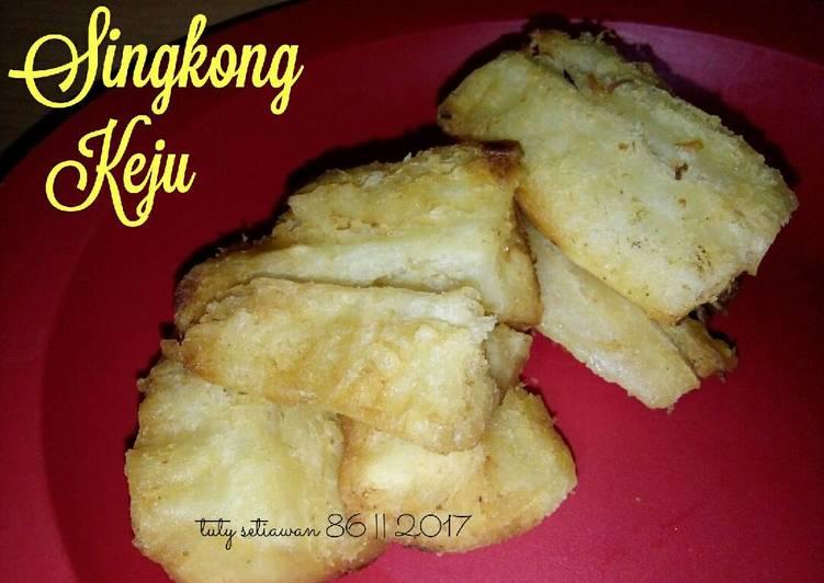 Resep Singkong Keju(Singkong goreng)