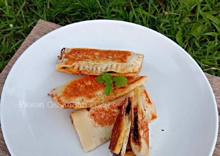 Resep Pie Pisang Roti Tawar
