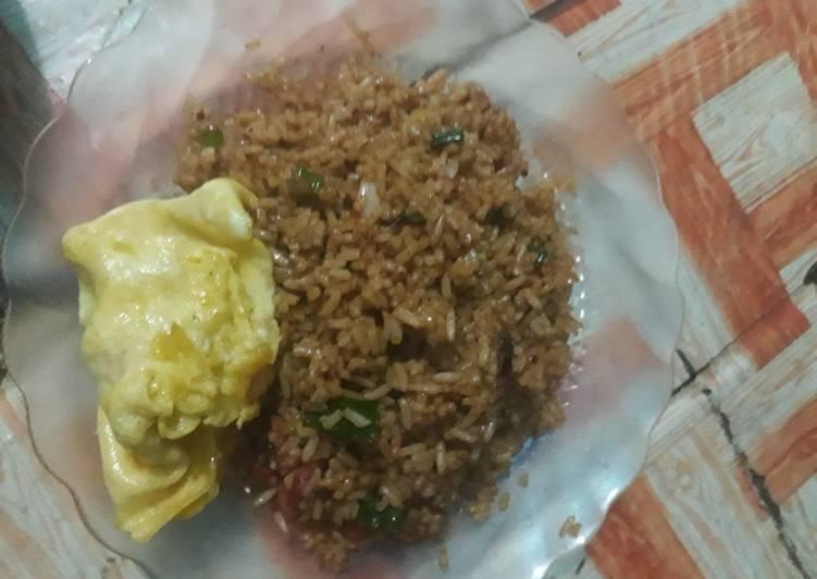 Resep Nasi goreng pedas anak kost