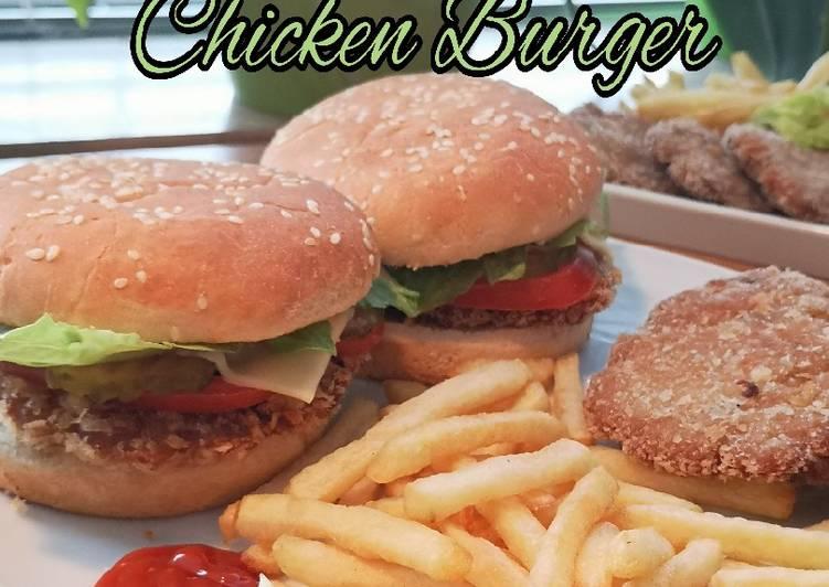 Resep Chicken Burger