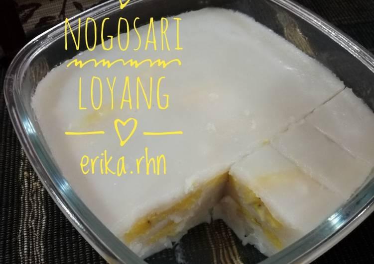 Resep Nogosari Loyang