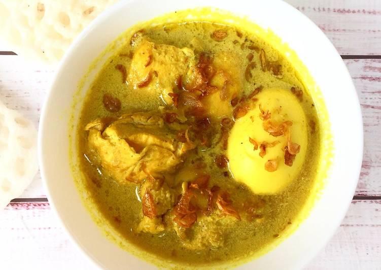 Resep Opor Ayam Creamy tanpa Santan enak dan sehat