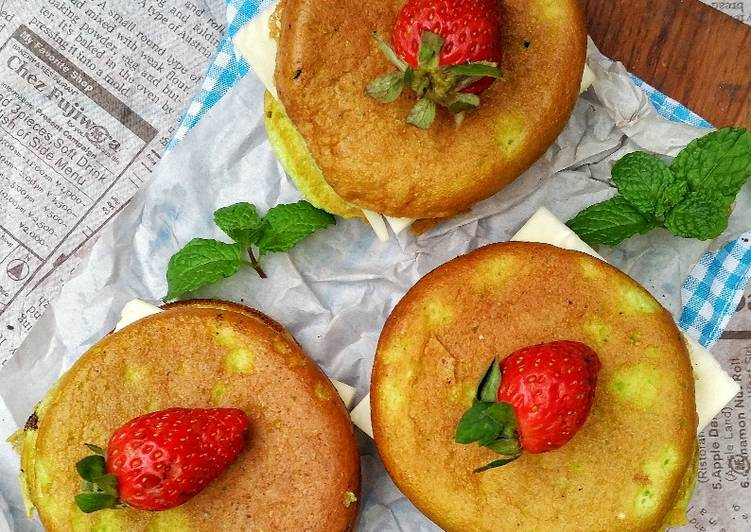 Resep Double Cheese Fluffy Pancake