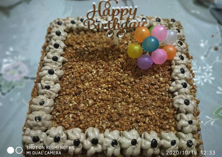 Resep Mocca cake birthday