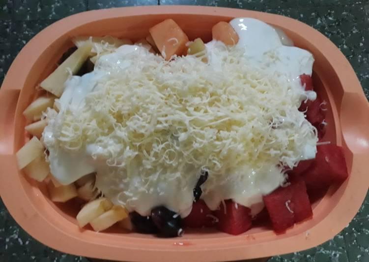 Resep Salad buah seger