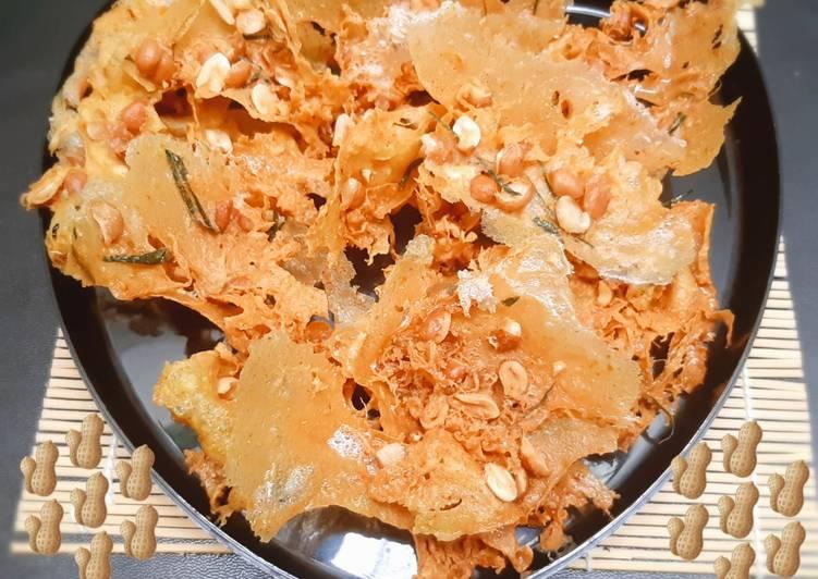 Resep Rempeyek Kacang Daun Jeruk