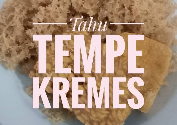 Resep 1Tahu Tempe Kremes