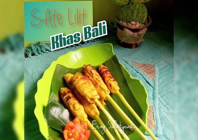 Resep Sate Lilit khas Bali