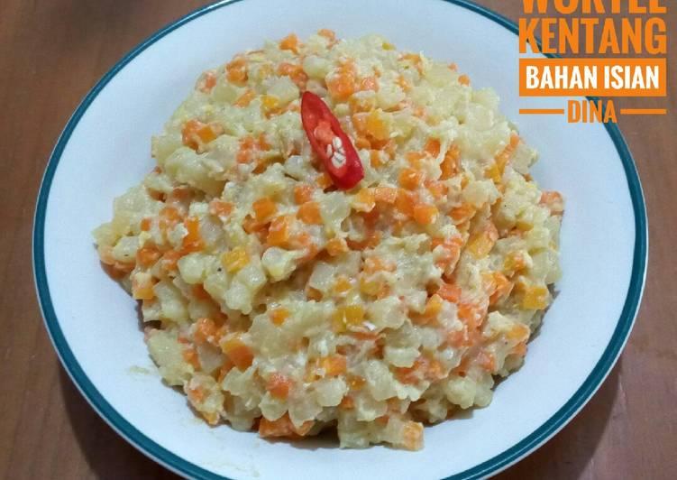 Resep Wortel kentang #bahan isian