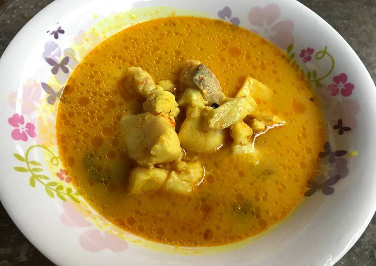 Resep Sup kakap bumbu kuning