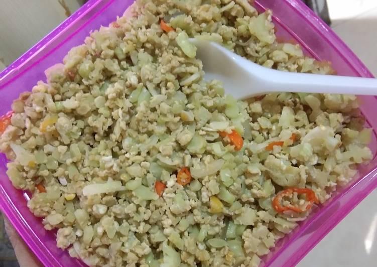 Resep Nasi goreng kembang kol - ide bekal 1
