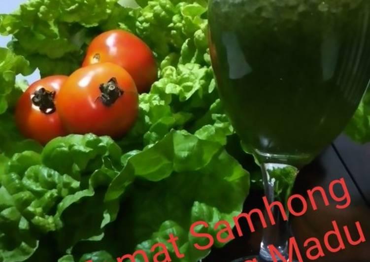 Resep Jus Tomat Samhong King Madu