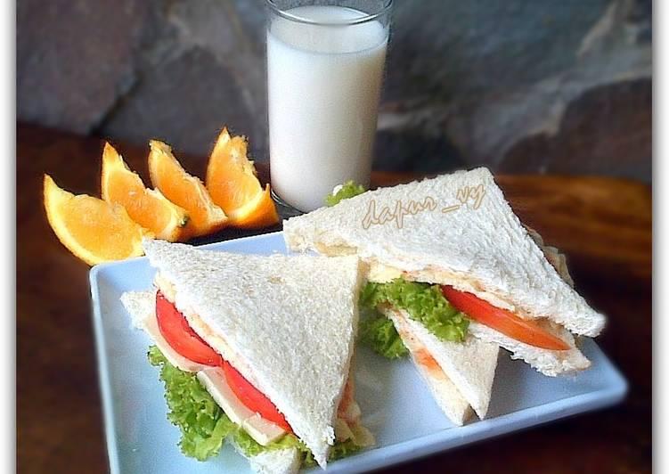 Resep Simple Egg SANDWICH