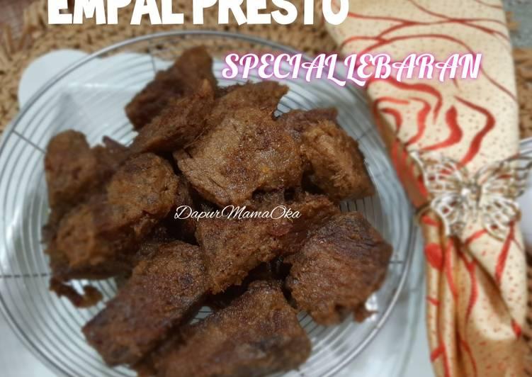 Resep Empal Presto Special Lebaran