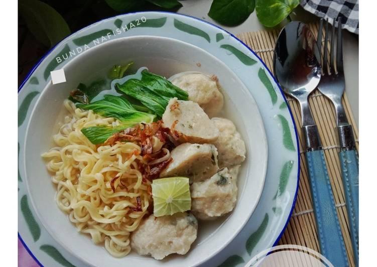 Resep Bakso Ayam Jamur Tiram